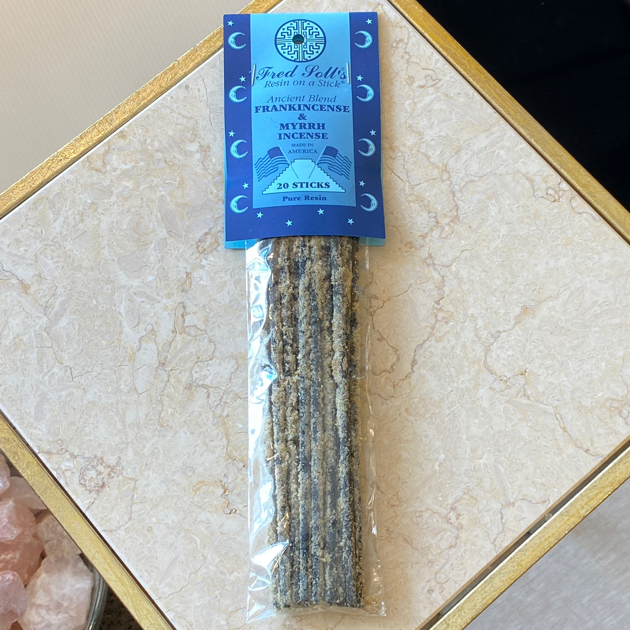 Frankincense & Myrrh Ancient Blend Incense (20 Sticks)
