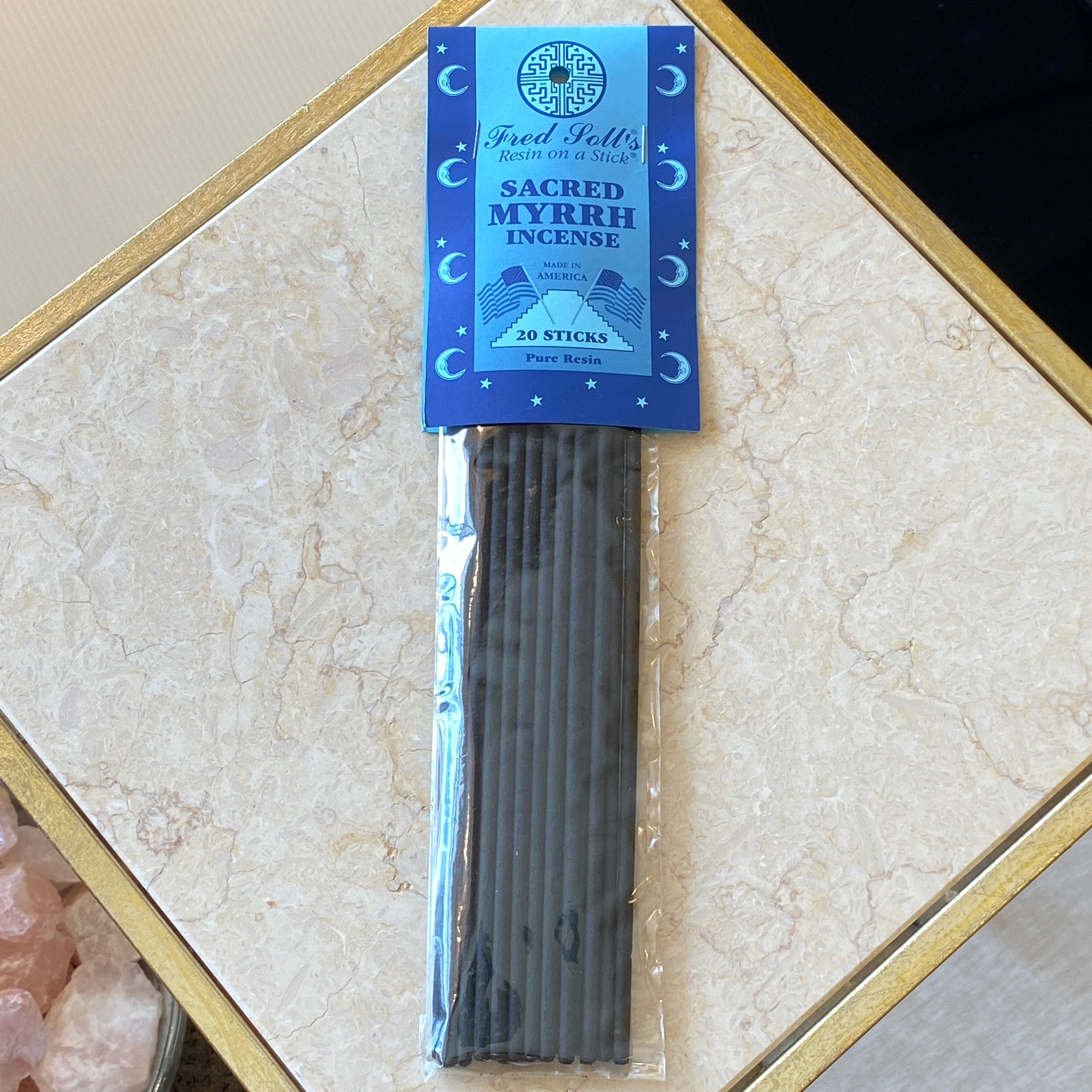 Sacred Myrrh Incense (20 Sticks)