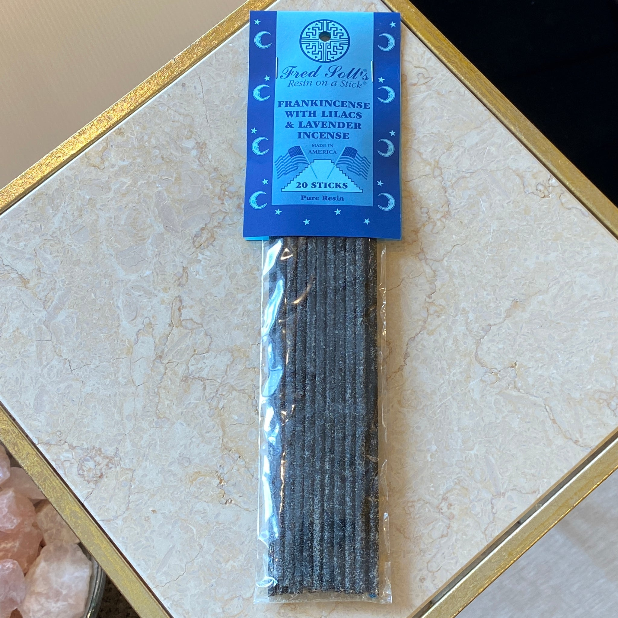 Frankincense w/ Lilacs & Lavender Incense (20 Sticks)