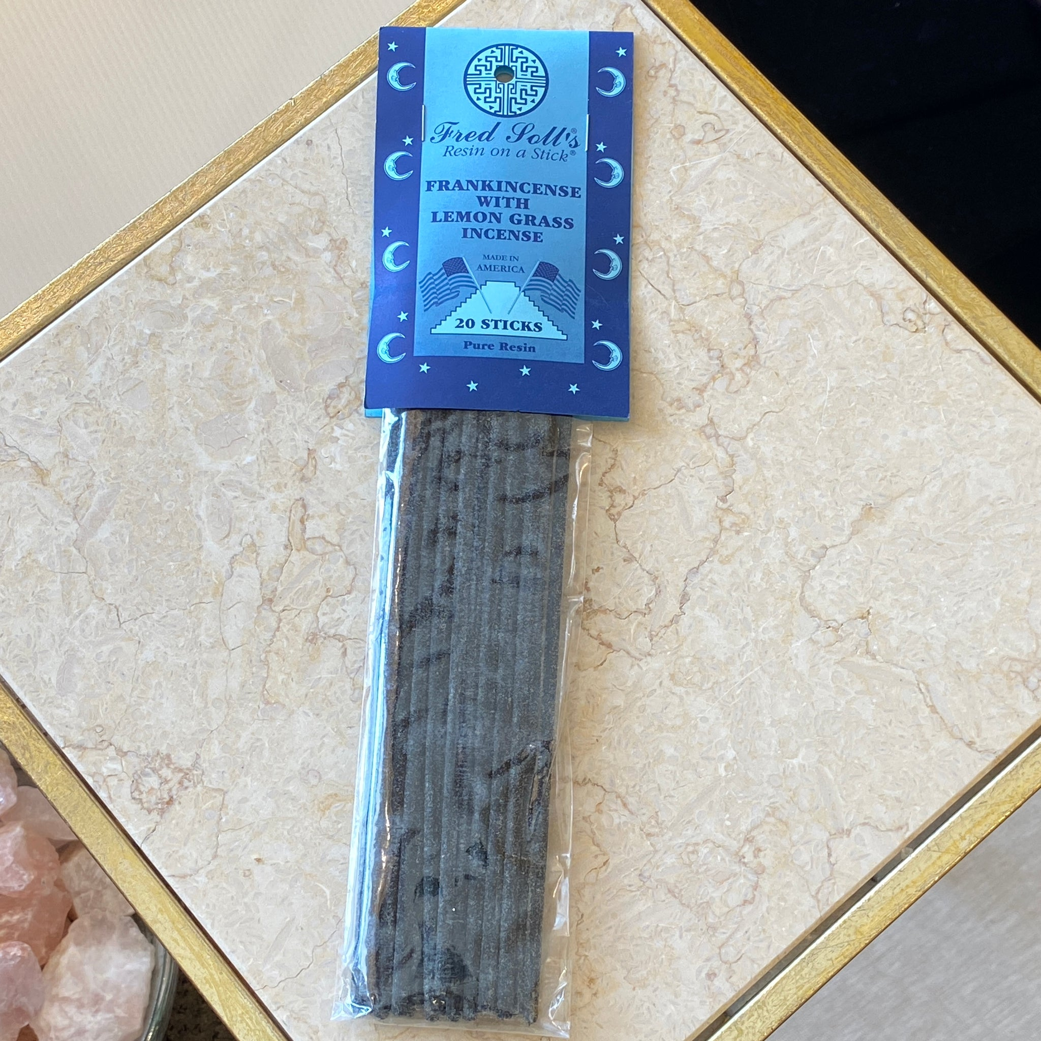 Frakincense w/ Lemon Grass Incense (20 Sticks)