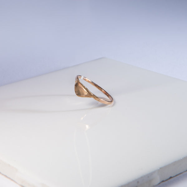 Triangle Gold-Fill Ring