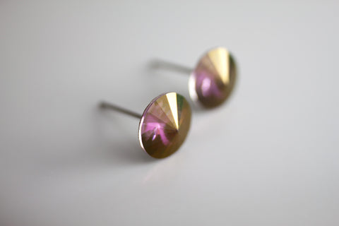 Swarovski Stud Earring (Medium, Cone)