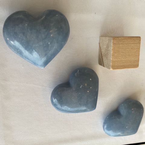 Angelite Heart