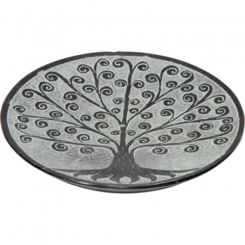 Soapstone Incense Holder - Tree of Life