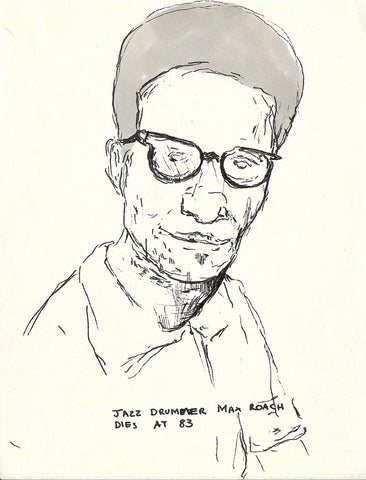 Portrait of Max Roach