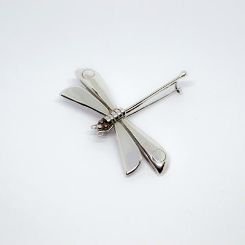 William Spratling brooch. Dragonfly. Mexican Silver. Mexican jewelry. Taxco silver.