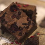 Hausgemachte Brownies in der 3er-Mix