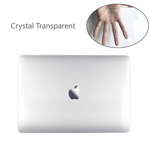 Coque de protection pour MacBook Pro 13 / Pro 13 Touch bar / Pro 13 avec Retina / Pro 15 avec Retina / Pro 15 Touch bar