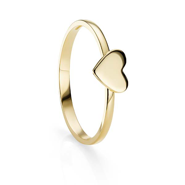 9ct Gold Heart Ring