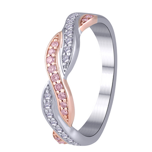 Desert Diamonds 9ct Pink Diamond Ring