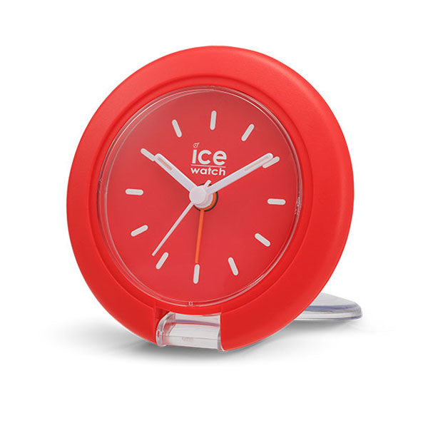 Travel Clock Red