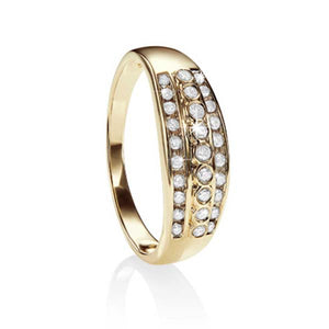 9ct 0.25ct diamond ring