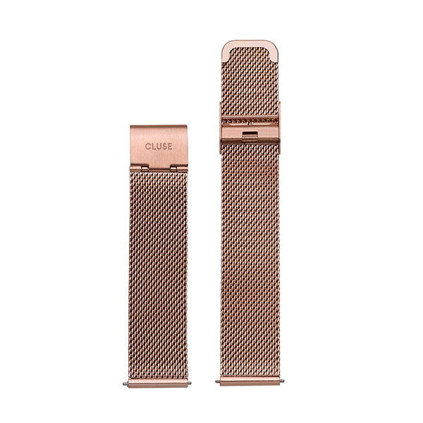 CLUSE 16mm Strap Mesh Rose Gold