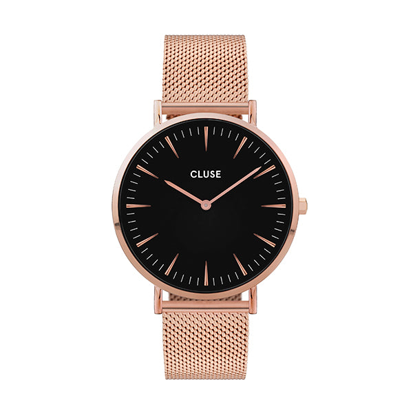 CLUSE La Boheme Mesh Rose Gold/Black