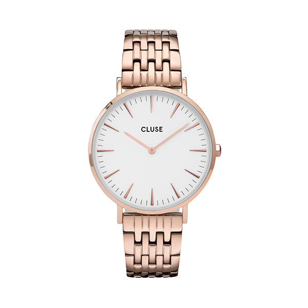 CLUSE La Boheme Multi-Link Rose Gold White/Rose Gold