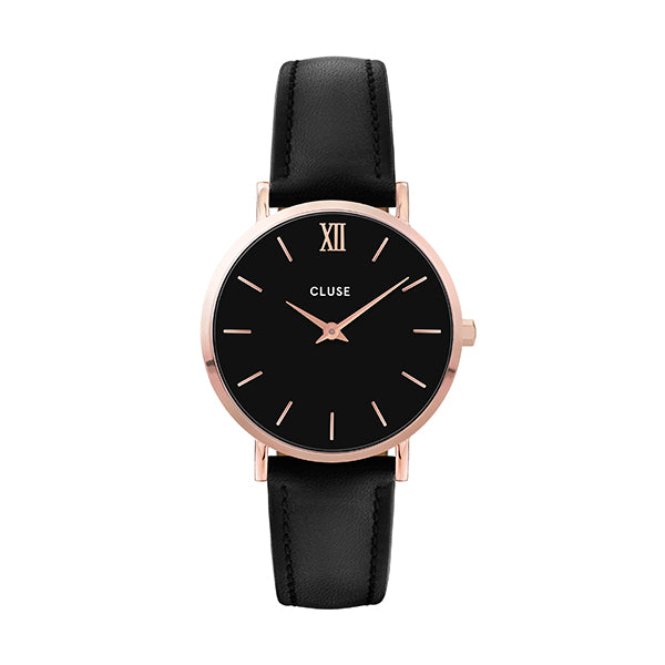 CLUSE Minuit Rose Gold Black/Black