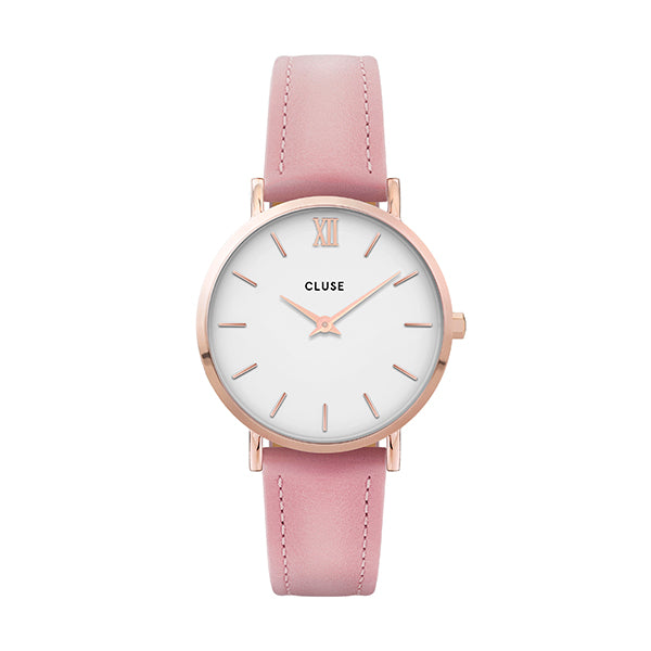 CLUSE Minuit Rose Gold White/Pink