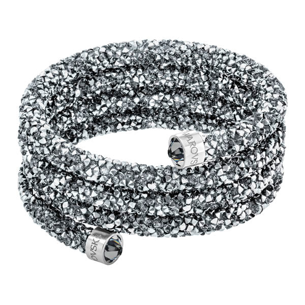 SWAROVSKI CRYSTALDUST CHROME-EFFECT BANGLE, SMALL