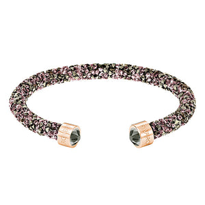 Swarovski -Crystaldust Cuff, Multi-colored, Rose S
