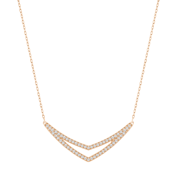 Swarovski Alpha Necklace, Medium