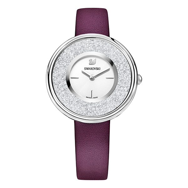 Swarovski Crystalline Pure Watch, Purple