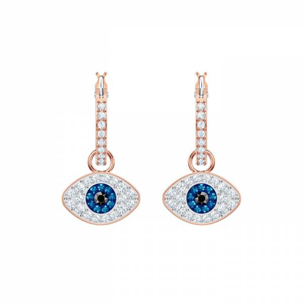 Swarovski Duo Hoop Earrings