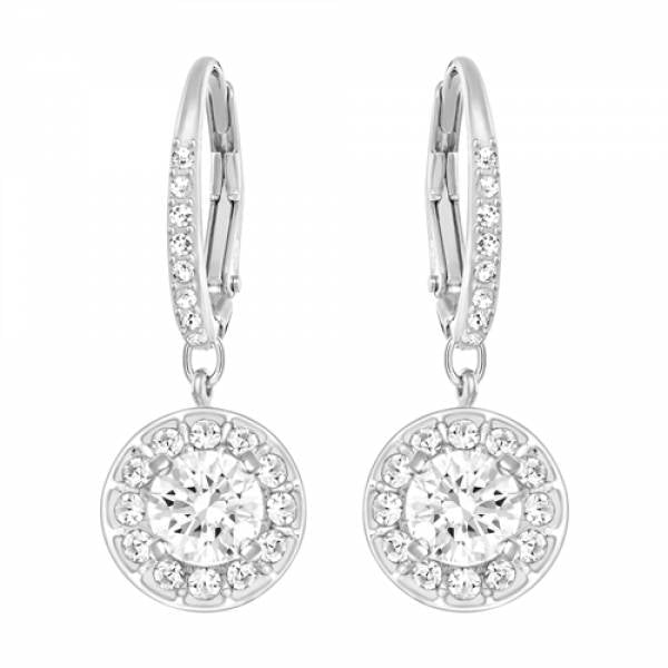 Swarovski Rhodium Attract Light Earrings