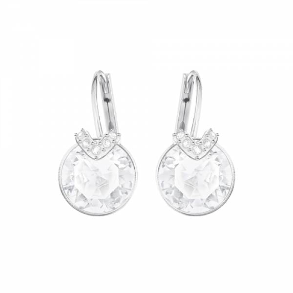 Swarovski Rhodium Bella Earrings