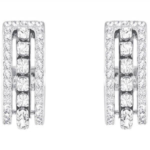 Swarovski Rhodium Further Earrings