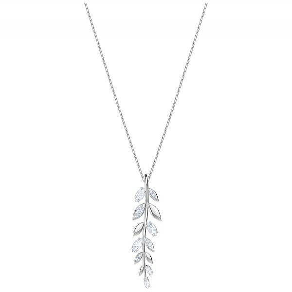 Swarovski Rhodium Mayfly Necklace