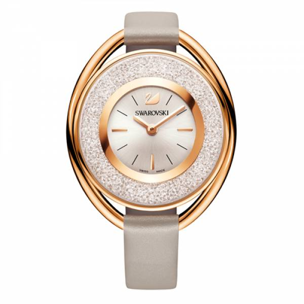 Swarovski Rose Crystaline Oval Watch