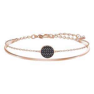 Swarovski Rose Gold Ginger Bangle