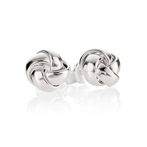 Sterling Silver Knot Studs