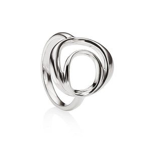 sterling Silver Swirl Dress Ring