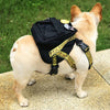 Woof White Dog Backpack