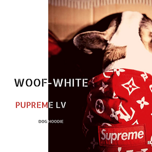 Pupreme LV Dog Hoodies