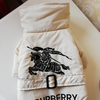 Woof-White Furberry Dog Coat