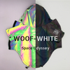 Woof-White Space Odyssey Dog Hoodies