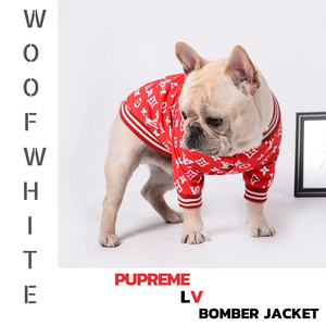 Pupreme LV Dog Bomber Jacket