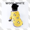 Woof-White Frenchies Bomber Jacket