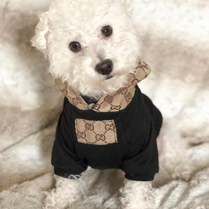 Woof-White Pucci Casual Dog Hoodies