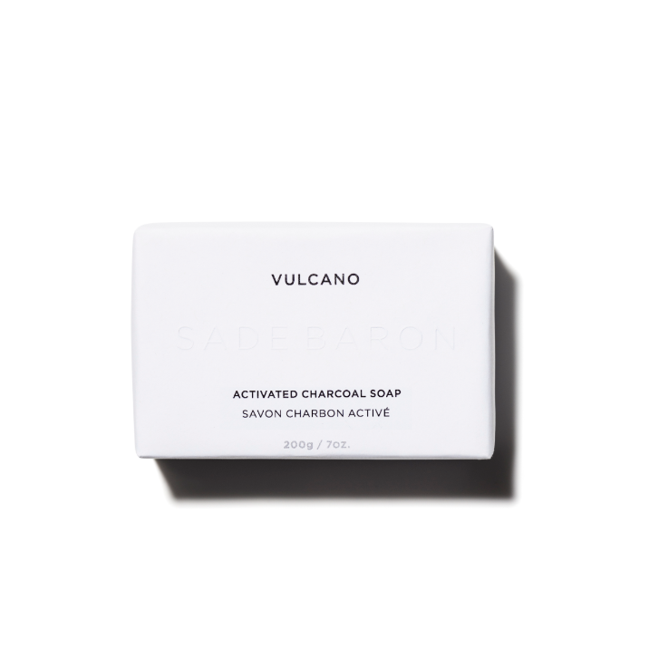 Vulcano - Activated Charcoal Bar Cleanser - Beauty by Dolly