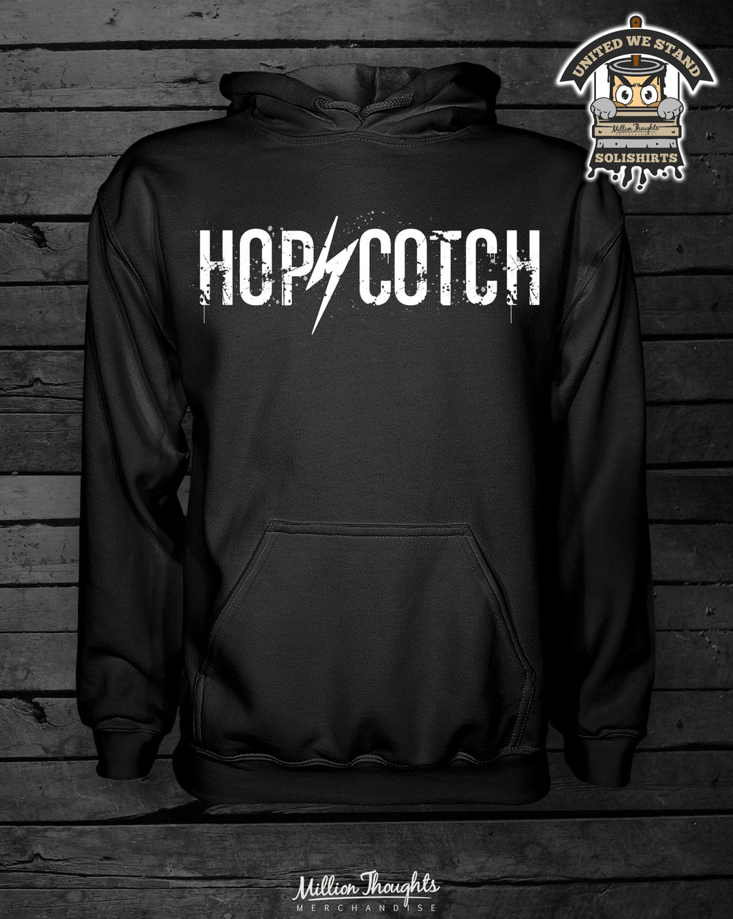 Hopscotch - Hoody Black
