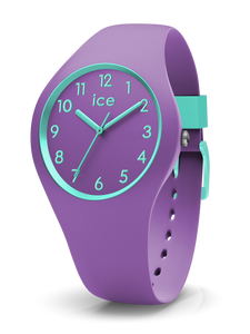 ICE WATCH Ola Kids Collection Blue Case 34mm (S) Purple Dial Purple Strap