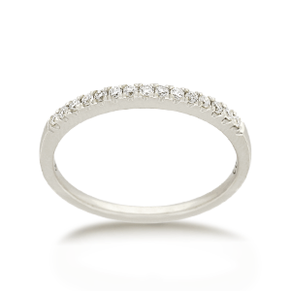 18ct Round Brilliant-cut 0.15ct TDW Diamond Band