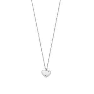 Sterling Silver Diamond Set Pendant With Chain