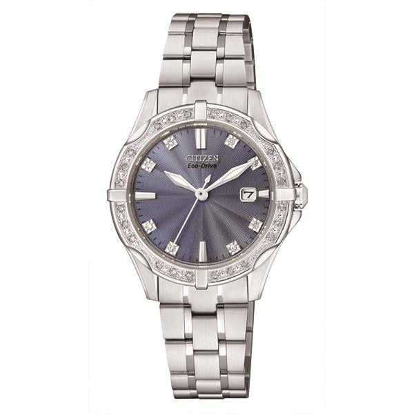 Citizen Ladies Eco-Drive Watch Bracelet Stainless Steel