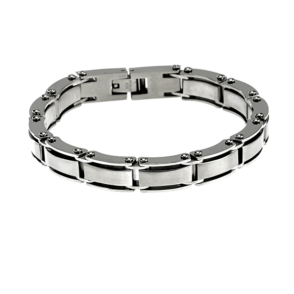 Cudworth Brushed Stainless Steel Bracelet