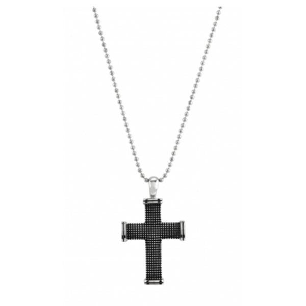 Cudworth Stainless Steel Cross Pendant