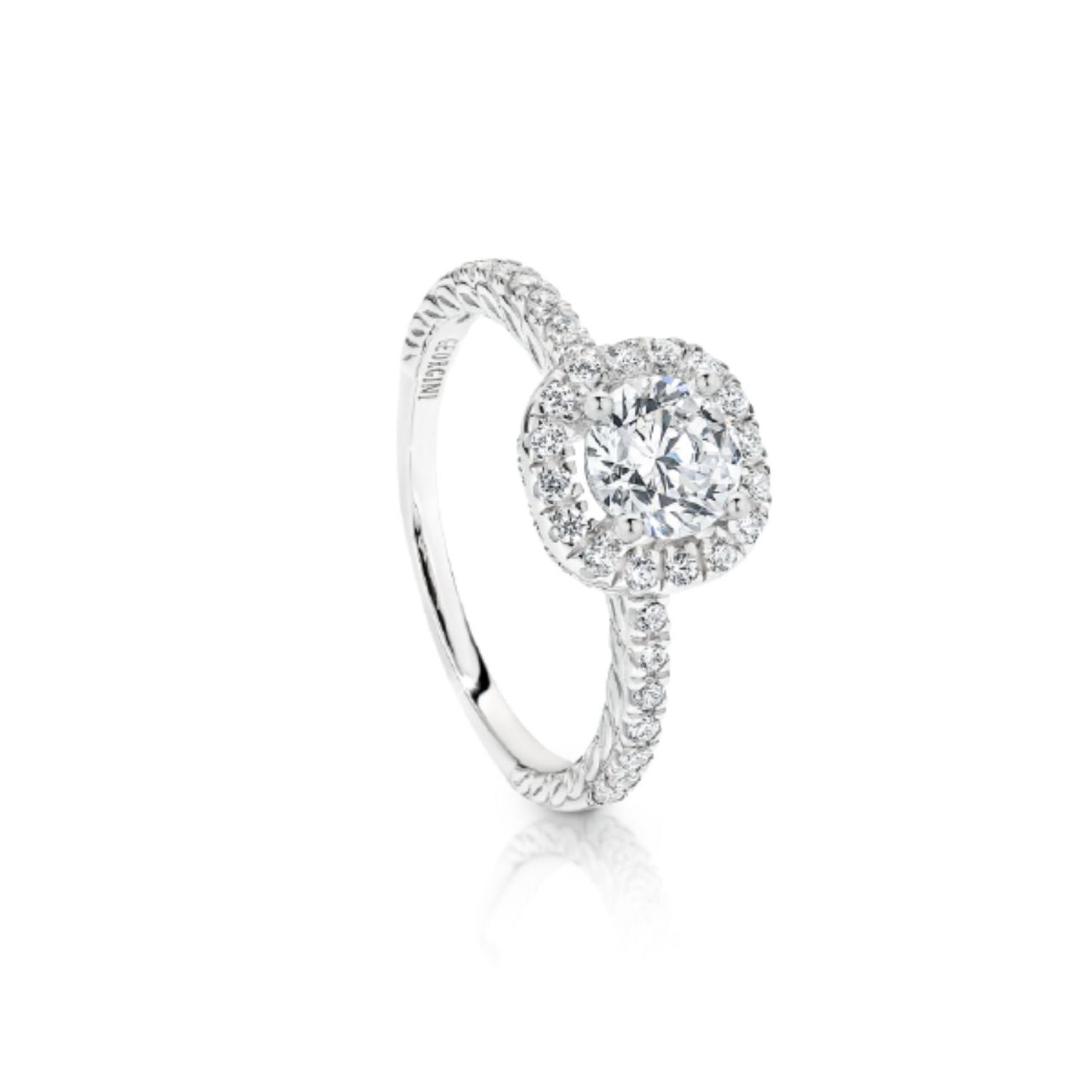 Georgini - Themis Sterling Silver Cubic Zirconia Ring